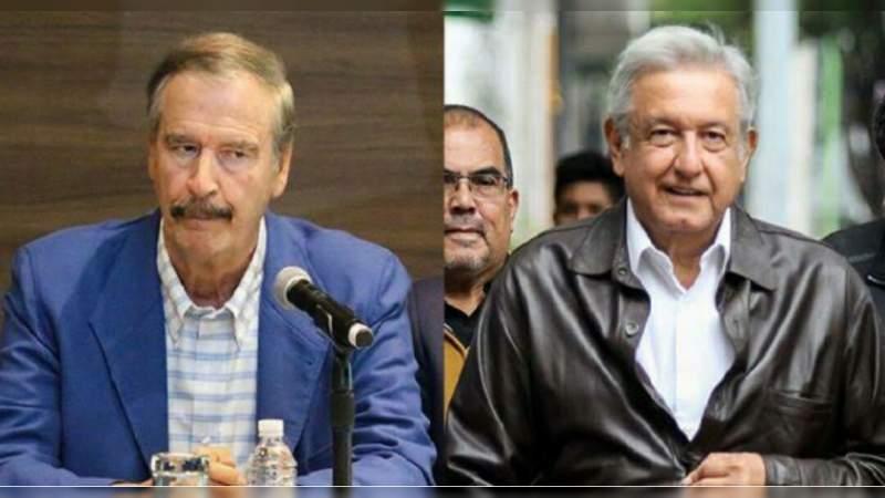 Fox agradece a López Obrador suspender sus mañaneras en Semana Santa