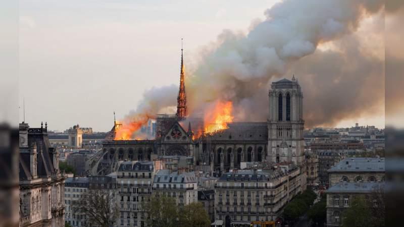 Comité Olímpico Internacional donará medio millón de euros para reconstruir Notre Dame