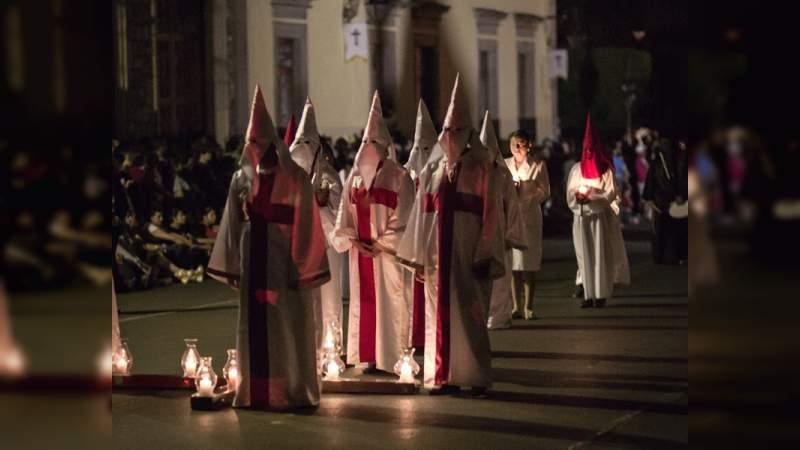 Lista la procesión del silencio de Morelia - Noventa Grados - Noticias de  México y el Mundo