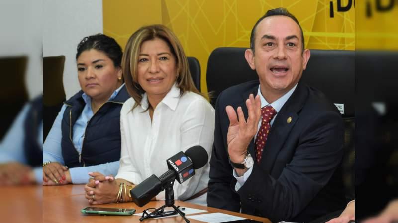 Michoacán muestra un rostro de seguridad y estado de derecho: PRD