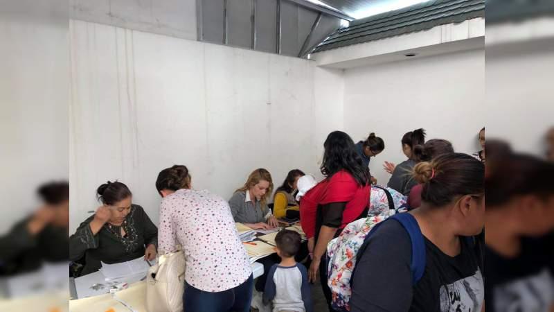 Se entregará 8 mil 871 órdenes de pago en Michoacán del programa Apoyo para el Bienestar de Niñas y Niños, Hijos de Madres Trabajadoras