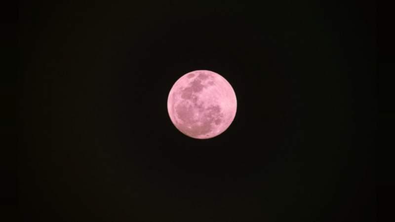 Este Viernes Santo podremos observar la Luna Rosa