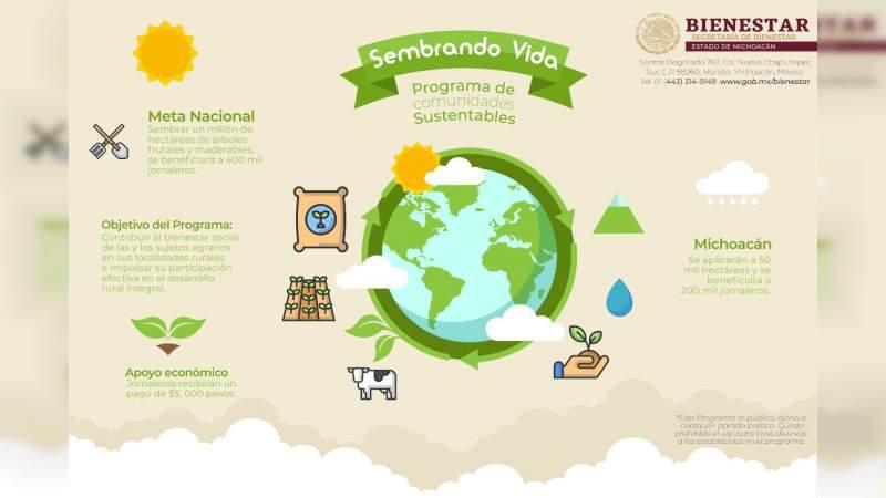 Se implementará el programa Sembrando Vida en Michoacán