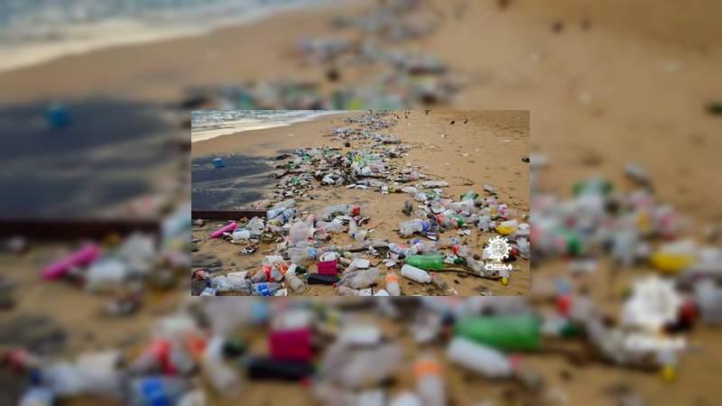 Vacaciones de Semana Santa generan 90 tonelada de basura en Acapulco