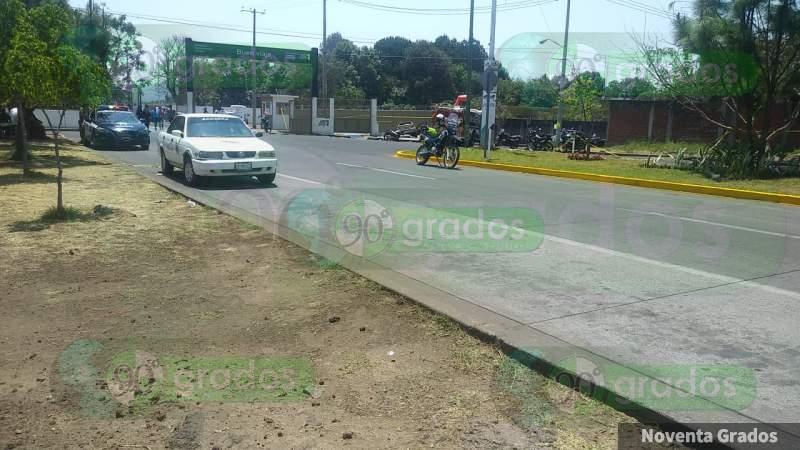 Muere policía en trágico accidente en Uruapan, Michoacán
