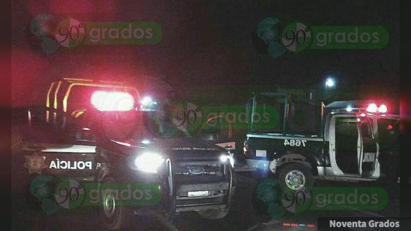 Balean a la Policía Estatal en Celaya, Guanajuato; hay un detenido
