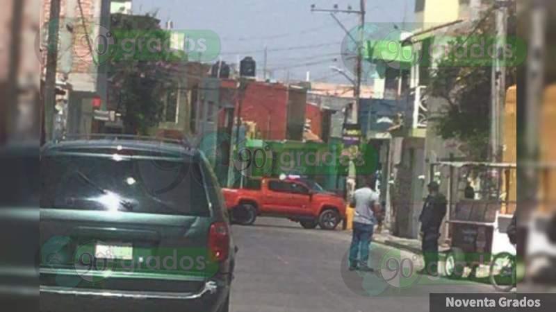 Huía de sus agresores y lo matan tras chocar, en Tarimoro, Guanajuato