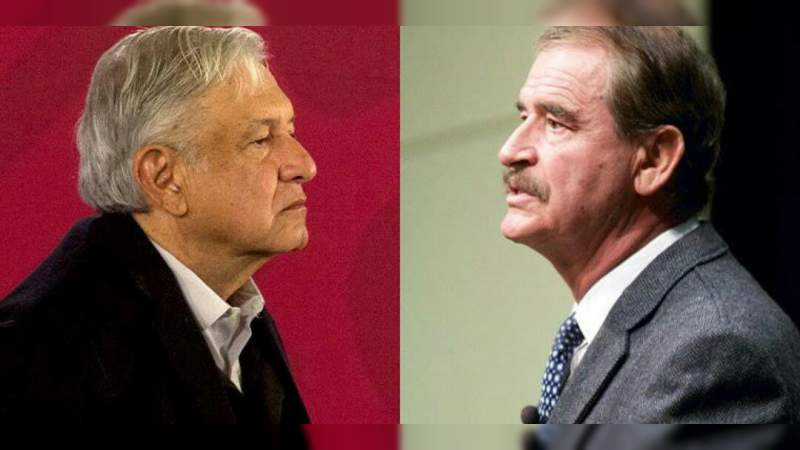 Hasta las tragedias las usas cómo trampolín: Fox a López Obrador