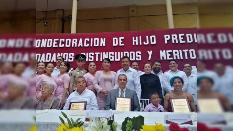 Llama diputada Sandra Luz a trabajar por talento de Apatzingán