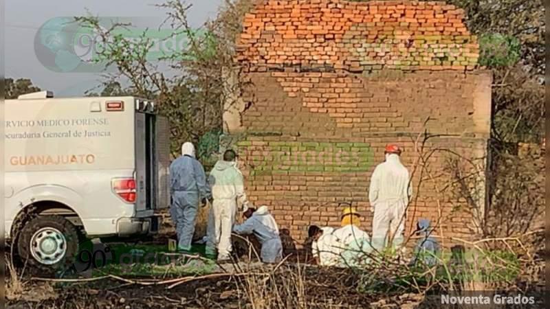 Buscaban un cadáver y localizan tres, en Pénjamo, Guanajuato