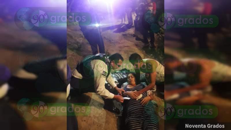 Balean a mujer en intento de asalto en Morelia, Michoacán