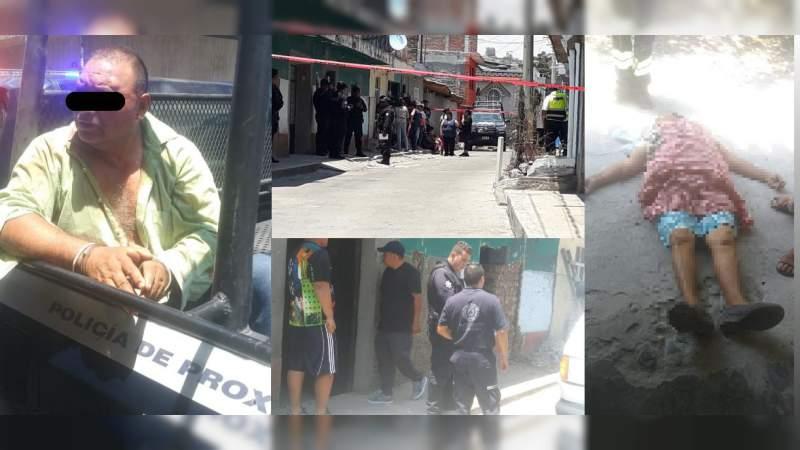 Pleito por una herencia sería el movil de agresión a balazos donde murió una mujer en Tarímbaro, Michoacán
