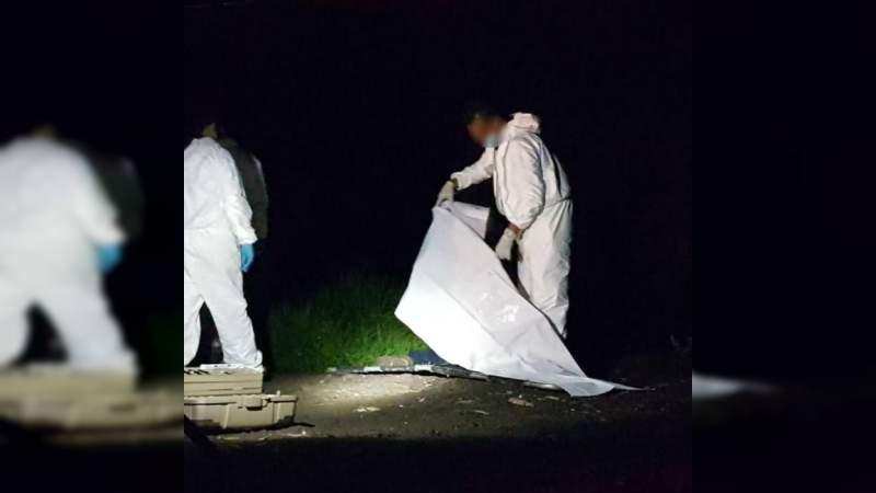 Con el tiro de gracia y huellas de tortura hallan cadáver de una persona en Morelia, Michoacán