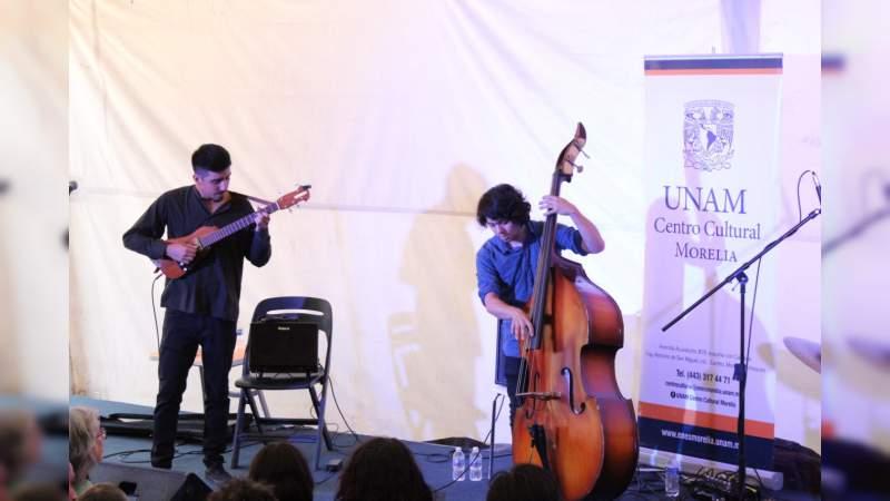 Presentó Ik Balam Trío propuesta de jazz fusión