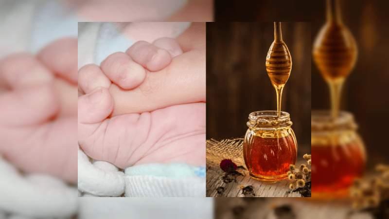 Muere bebé de seis meses tras ingerir miel