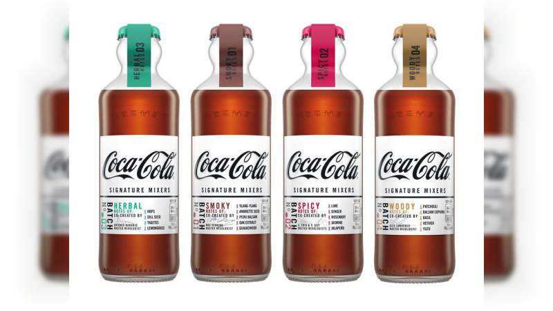 Coca-Cola lanza nuevos sabores para mezclar con alcohol