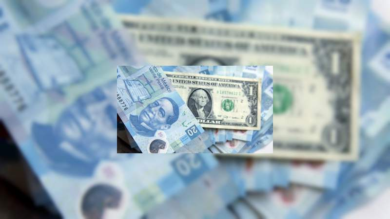 Peso recupera 13 centavos frente al dólar