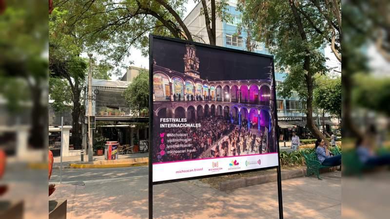 El esplendor de Michoacánen la colonia Roma de la Ciudad de México