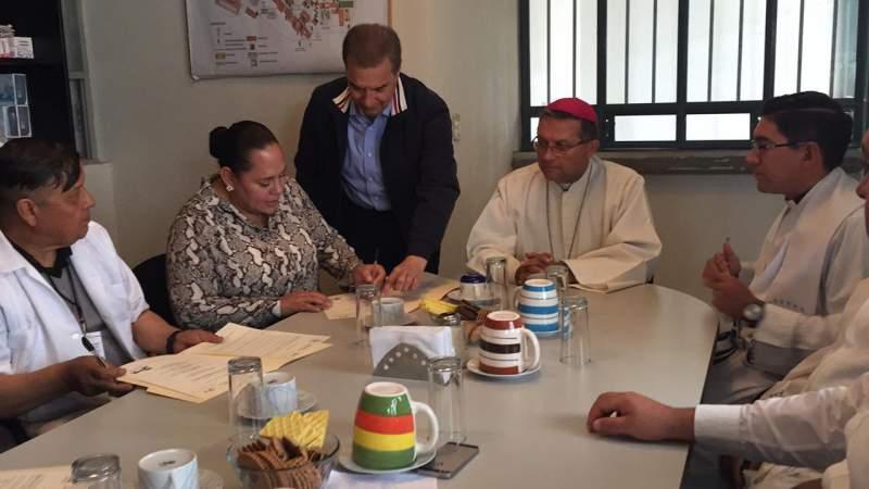 Sistema Penitenciario y Arquidiócesis de Morelia conjuntan esfuerzos en beneficio de la población penitenciaria
