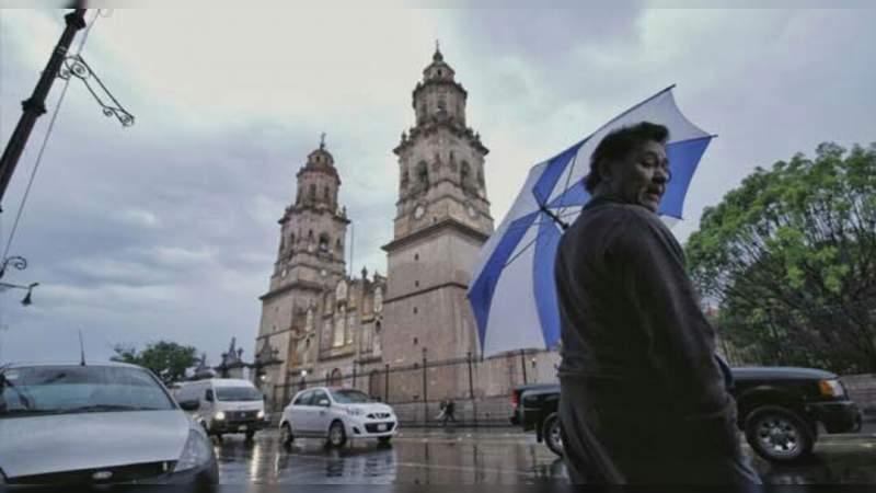 Probabilidad de lluvias para este viernes en Morelia