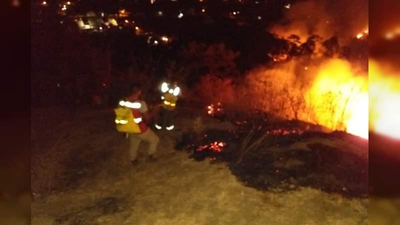 En alerta PC Michoacán y dependencias de los tres órdenes de gobierno ante incendios forestales