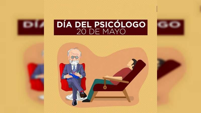 Hoy celebramos el Día del Psicólogo en México
