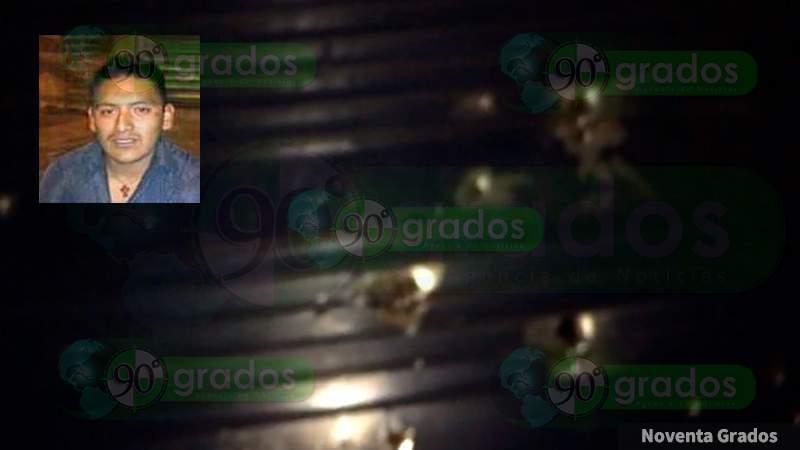 "Ejecutan con 30 balazos a ""El Tekua"" en Uruapan, Michoacán"