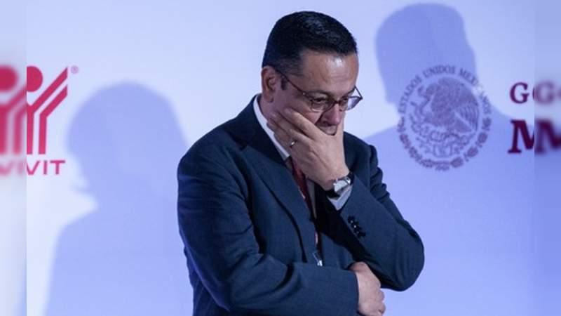 Germán Martínez renuncia como director del IMSS