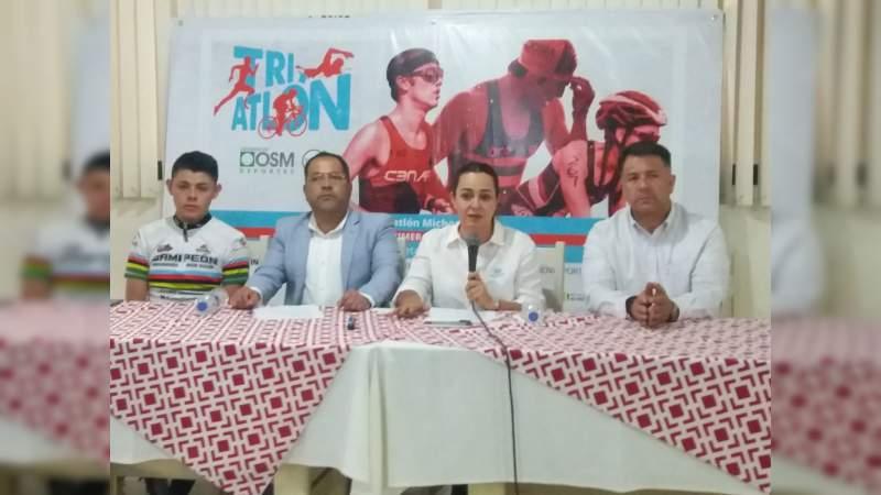Llega el Triatlón Michoacán al municipio de Hidalgo