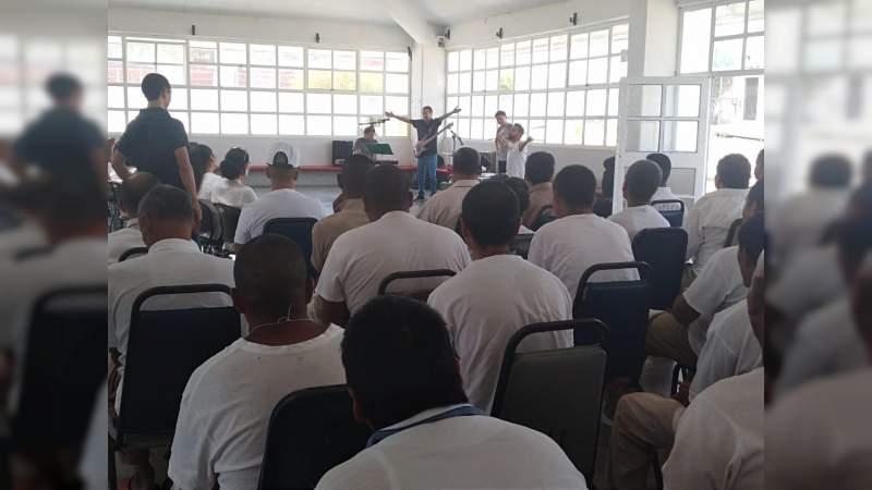 Sistema Penitenciario y UMSNH promueven cultura entre privados de la libertad