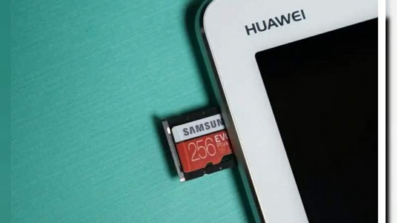 Huawei tampoco podrá utilizar tarjetas SD en sus celulares