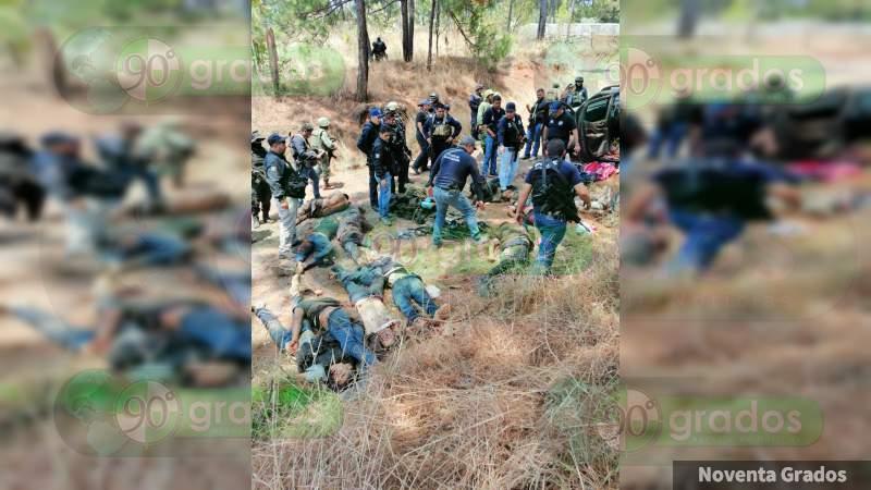 Identifican a cinco de los muertos de Uruapan