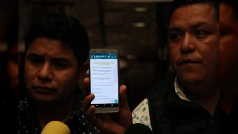 Regidores de Nahuatzen son amenazados de muerte por no participar con la Presidenta Municipal sustituta