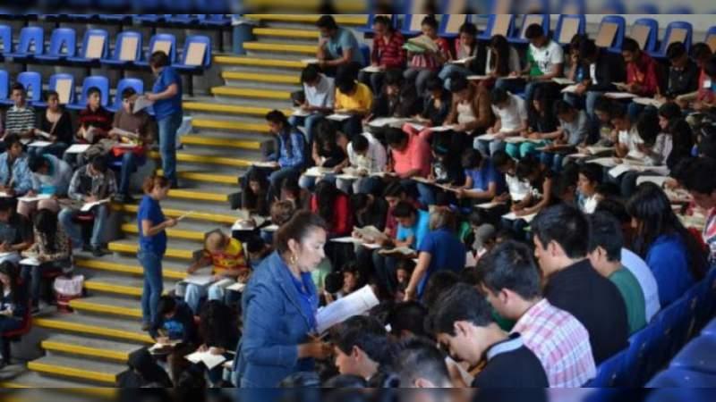Casi 20 mil aspirantes registrados para ingreso a la UMSNH