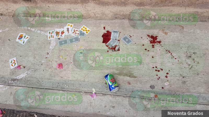 Lo asesinan a puñaladas mientras convivía en Culiacán, Sinaloa