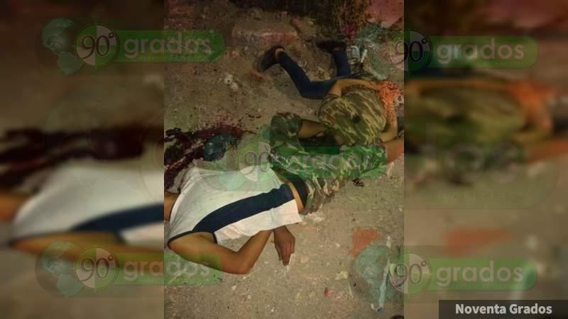 Dejan a dos maniatados y ejecutados en terracería de Celaya, Guanajuato