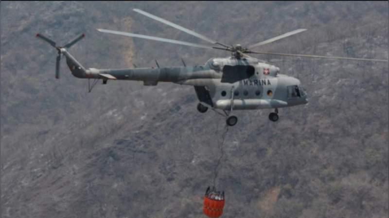 Localizan cuerpos de marinos que viajaban en helicóptero siniestrado en Querétaro