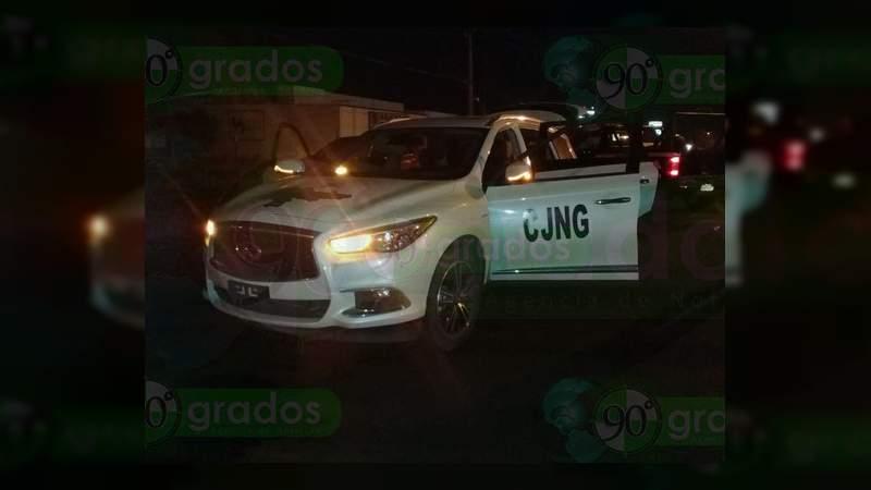 Enfrentamiento con convoy del CJNG deja tres policías muertos en Zamora