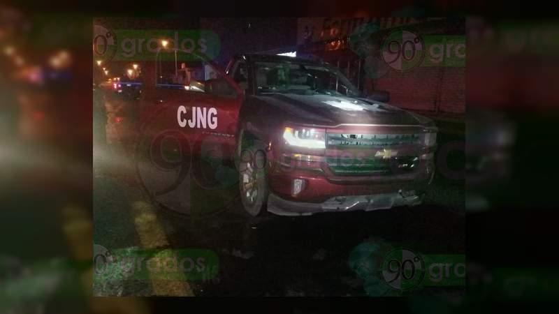 Captan convoy de CJNG en Michoacán [Estados]