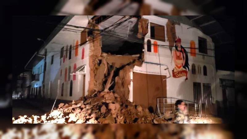 Terremoto de 8.0 sacude Perú, también se sintió en Colombia, Ecuador y Venezuela