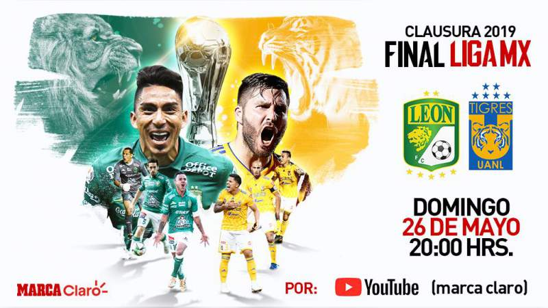 YouTube transmitirá la Gran Final de la Liga MX