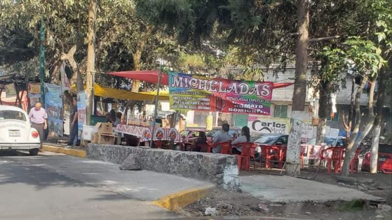 Funcionarios de Tlalpan solapan y fomentan crecimiento de ambulantaje con venta de cerveza: Comerciantes Unidos