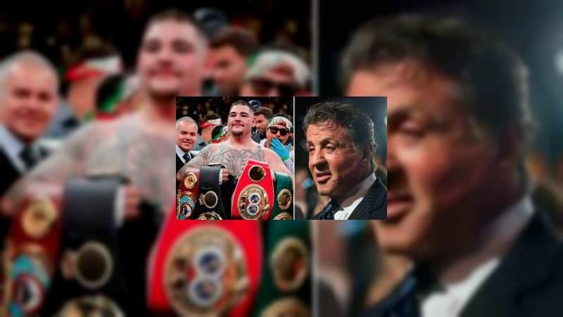 Andy Ruiz es el Rocky Mexicano: Sylvester Stallone