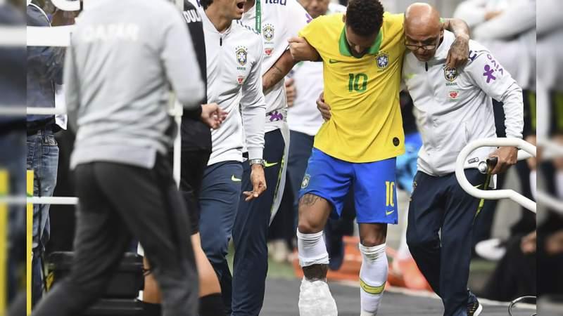Por lesión, Neymar queda fuera de la Copa América