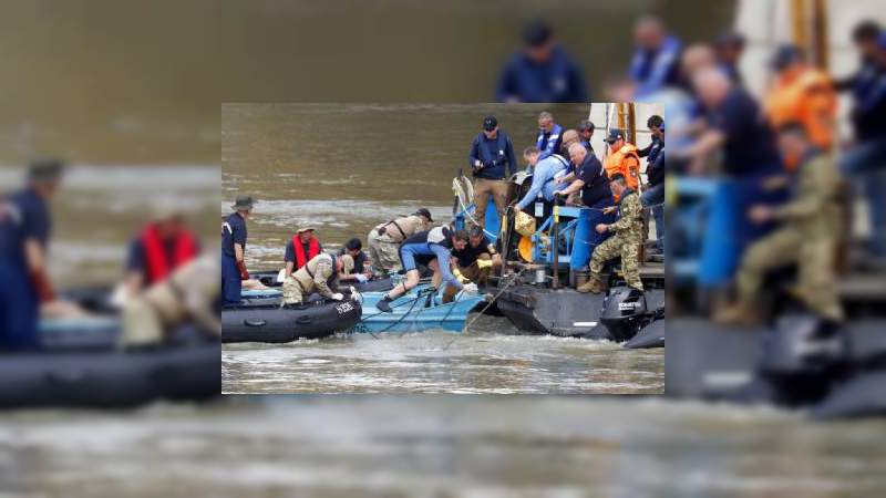 Se eleva a 15 el número de muertos por naufragio en Hungría
