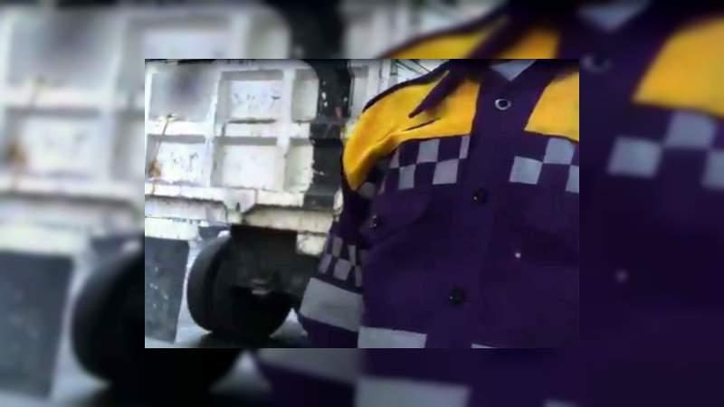 Policía extorsiona a transportista con 5 mil pesos diarios