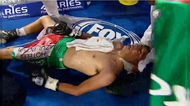 Gallito Orucuta se encuentra en coma inducido, tras desvanecerse en el ring