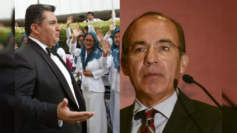Vinculan a Felipe Calderón y Margarita Zavala con la Luz del Mundo
