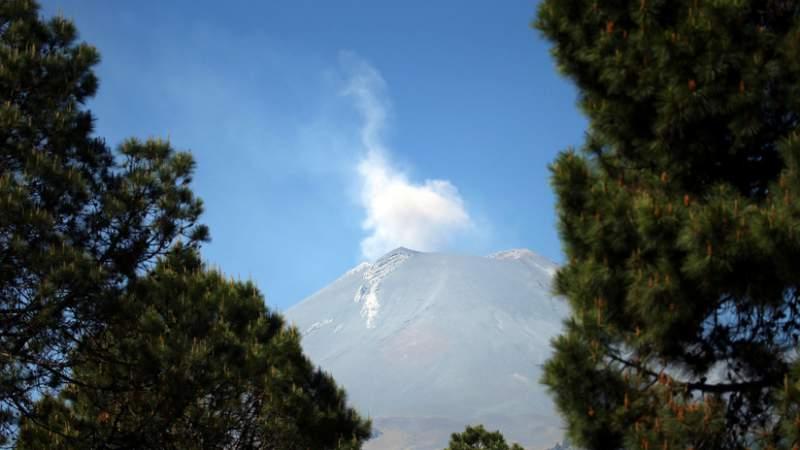 Popocatépetl registra 4 sismos volcanotectónicos