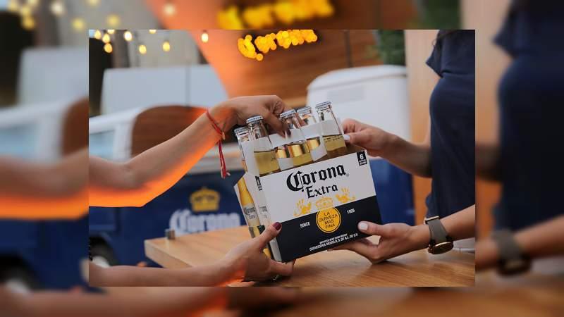Con botellas de plástico podrás comprar cerveza